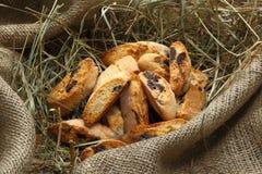 Italiaans amandelkoekje (koekjes) Royalty-vrije Stock Afbeeldingen