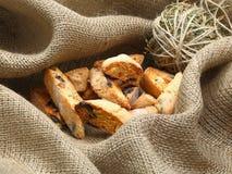 Italiaans amandelkoekje (koekjes) Royalty-vrije Stock Fotografie