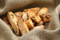 Italiaans amandelkoekje (koekjes) Royalty-vrije Stock Foto's