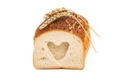 Italiaans Artisanaal Wit Brood stock afbeeldingen