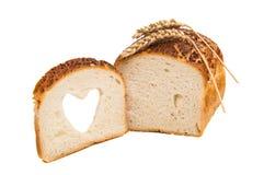Italiaans Artisanaal Wit Brood royalty-vrije stock afbeeldingen