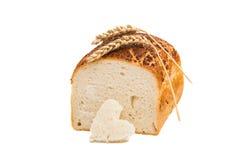 Italiaans Artisanaal Wit Brood royalty-vrije stock foto's