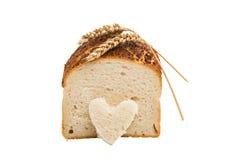 Italiaans Artisanaal Wit Brood royalty-vrije stock afbeelding