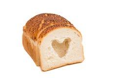 Italiaans Artisanaal Wit Brood stock foto