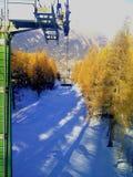 Italiaans bergpanorama Stock Foto
