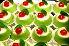 Italiaans cassata mignon dessert Royalty-vrije Stock Afbeeldingen