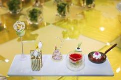 Italiaans dessert Stock Foto