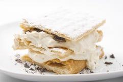 Italiaans dessert stock afbeelding