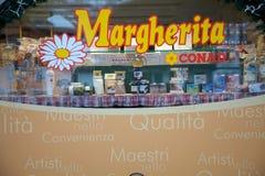 Italiaans detailhandelmerk stock afbeeldingen