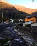 Italiaans dorp Royalty-vrije Stock Fotografie