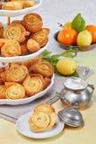Italiaans Fried Pastries royalty-vrije stock afbeeldingen