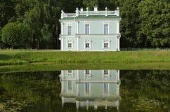 Italiaans huis in Kuskovo royalty-vrije stock afbeeldingen