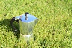 Italiaans koffiezetapparaat Stock Afbeelding