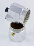 Italiaans koffiezetapparaat Royalty-vrije Stock Foto's