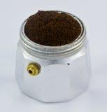 Italiaans koffiezetapparaat Royalty-vrije Stock Fotografie