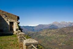 Italiaans landelijk landschap Royalty-vrije Stock Foto's
