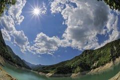 Italiaans landschap Stock Foto's