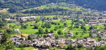 Italiaans landschap Stock Foto
