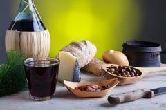 Italiaans langzaam voedsel royalty-vrije stock foto