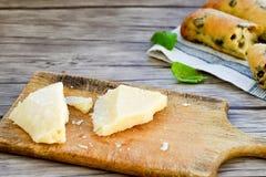 Italiaans olijvenbrood royalty-vrije stock fotografie