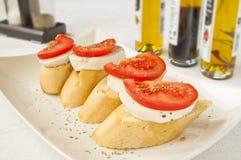 Italiaans ontbijt royalty-vrije stock afbeeldingen