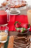 Italiaans ontbijt Stock Afbeelding