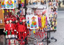 Italiaans Pinocchio-speelgoed royalty-vrije stock fotografie