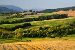 Italiaans platteland Royalty-vrije Stock Afbeelding