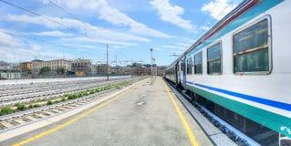 Italiaans station Royalty-vrije Stock Foto's