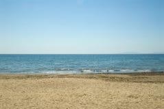 Italiaans strand Royalty-vrije Stock Foto's