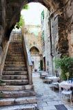 Italiaans terras Stock Foto