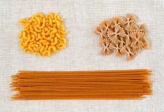 Italiaans van de achtergrond deegwaren abstract textuur ontwerppatroon Royalty-vrije Stock Foto