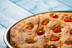 Italiaans vlak brood Stock Foto's