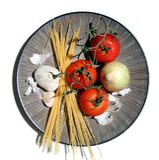 Italiaans Voedsel Stock Foto