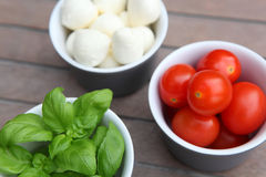 Italiaans Voedsel Royalty-vrije Stock Afbeelding