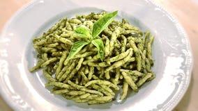Italiaans voedsel stock video