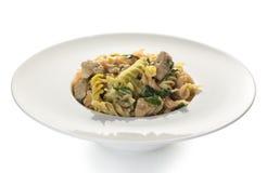 Italiaans voedsel, kleurendeegwaren Royalty-vrije Stock Afbeelding