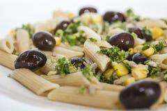 Italiaans voedsel - sluit omhoog Stock Afbeelding