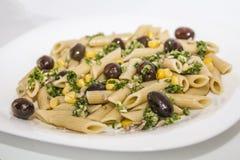 Italiaans voedsel - sluit omhoog Royalty-vrije Stock Foto