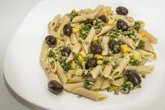 Italiaans voedsel - sluit omhoog Royalty-vrije Stock Afbeelding