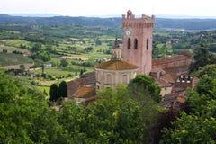 Italiaanse abdij Royalty-vrije Stock Afbeeldingen