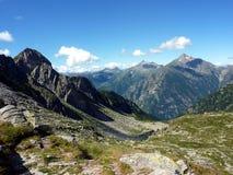 Italiaanse Alpen Royalty-vrije Stock Afbeeldingen