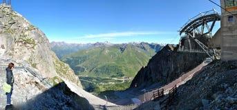 Italiaanse Alpen Stock Afbeelding