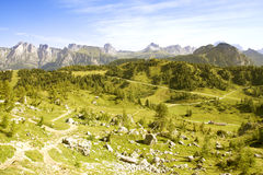 Italiaanse Alpen, Dolomiet Royalty-vrije Stock Afbeeldingen
