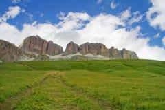 Italiaanse Alpen, Dolomiet Stock Afbeelding