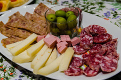 Italiaanse aperitivo Stock Afbeelding