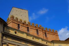 Italiaanse architectuur in detail royalty-vrije stock foto's