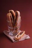 Italiaanse biscotti Stock Afbeeldingen