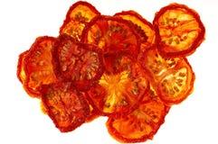 Italiaanse in de zon gedroogde tomaten Stock Afbeelding