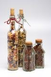 Italiaanse deegwaren en Spaanse pepers Stock Foto's